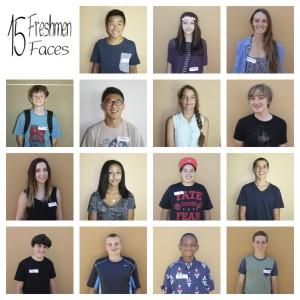 15 Freshmen Faces