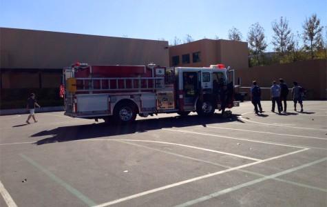 Fire Alarm, Smoke Caused by Studio Set