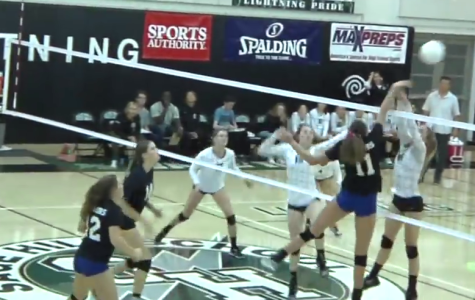 Girl's Volleyball vs St. Margarets 2015 Video