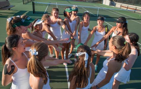 Girls' Varsity Tennis Team Aces League