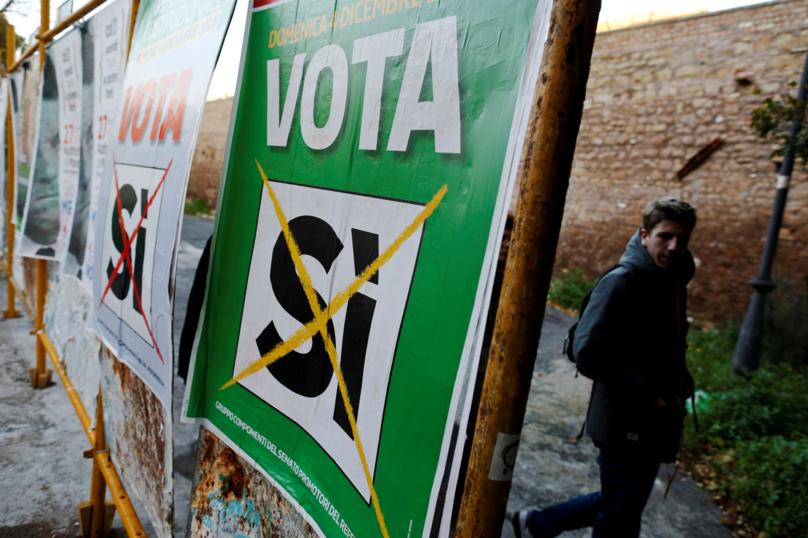 The Italian Vote on the Establishment