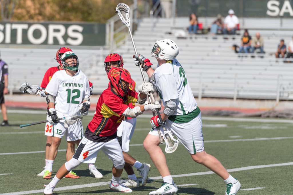 Johnny King helps lead the Sage Hill Lightning as the Lacrosse season hits the ground running