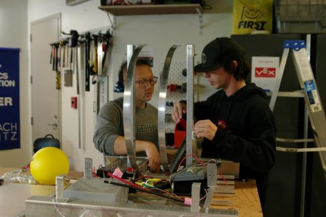 Building Up the Robotics Team